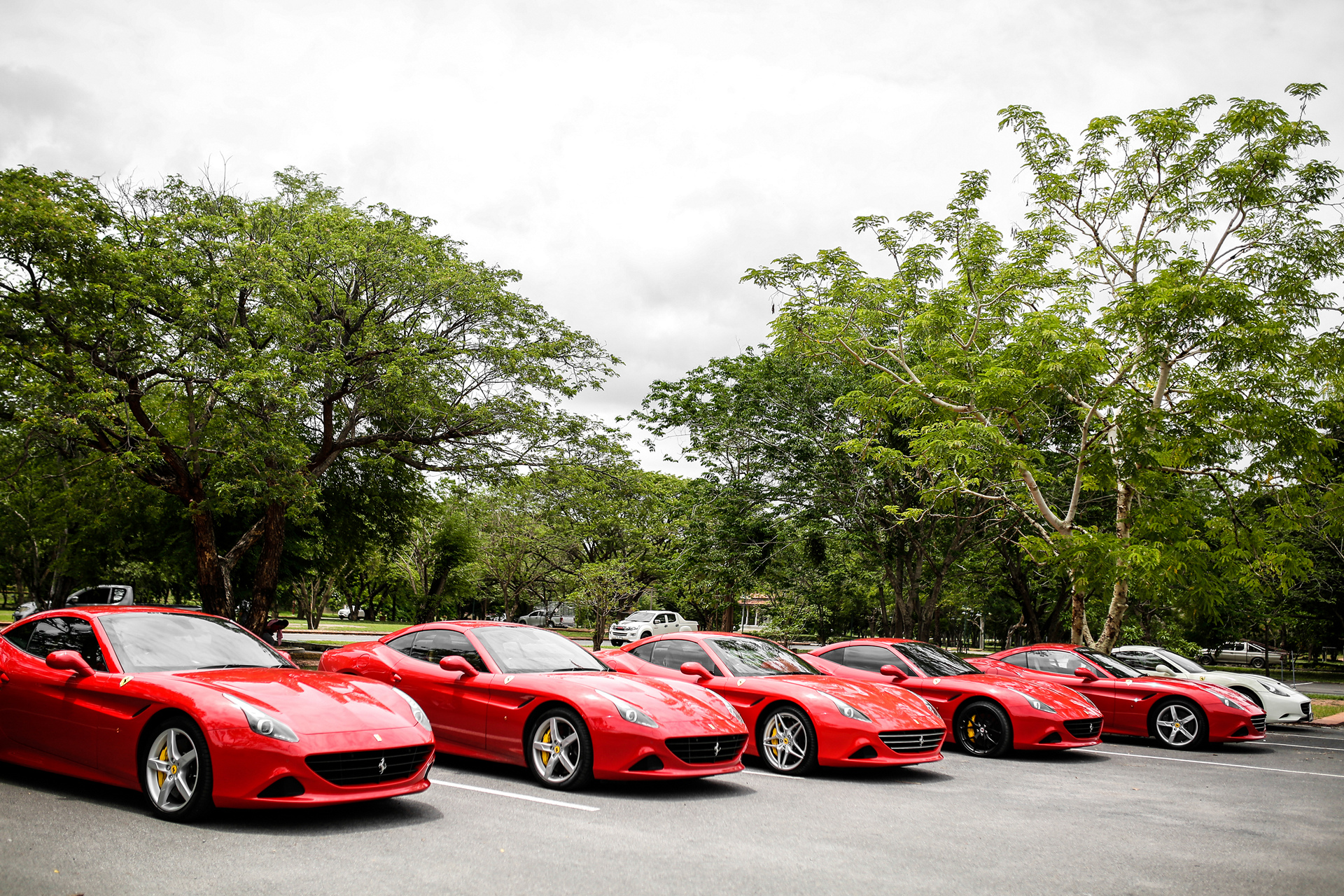 Ferrari California T Wows in Ayutthaya © Fiat Chrysler Automobiles N.V.