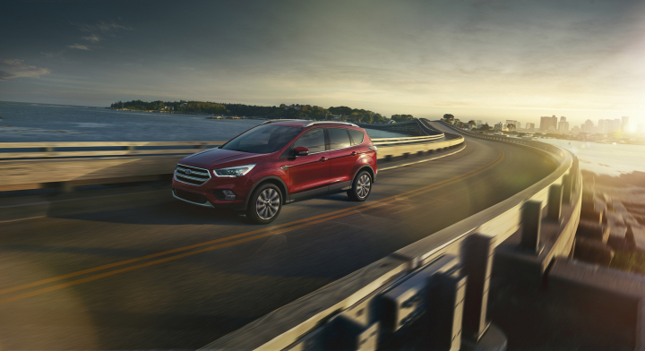 New Ford Escape Featured on First-Of-Its-Kind Reality Show 'The Runner'