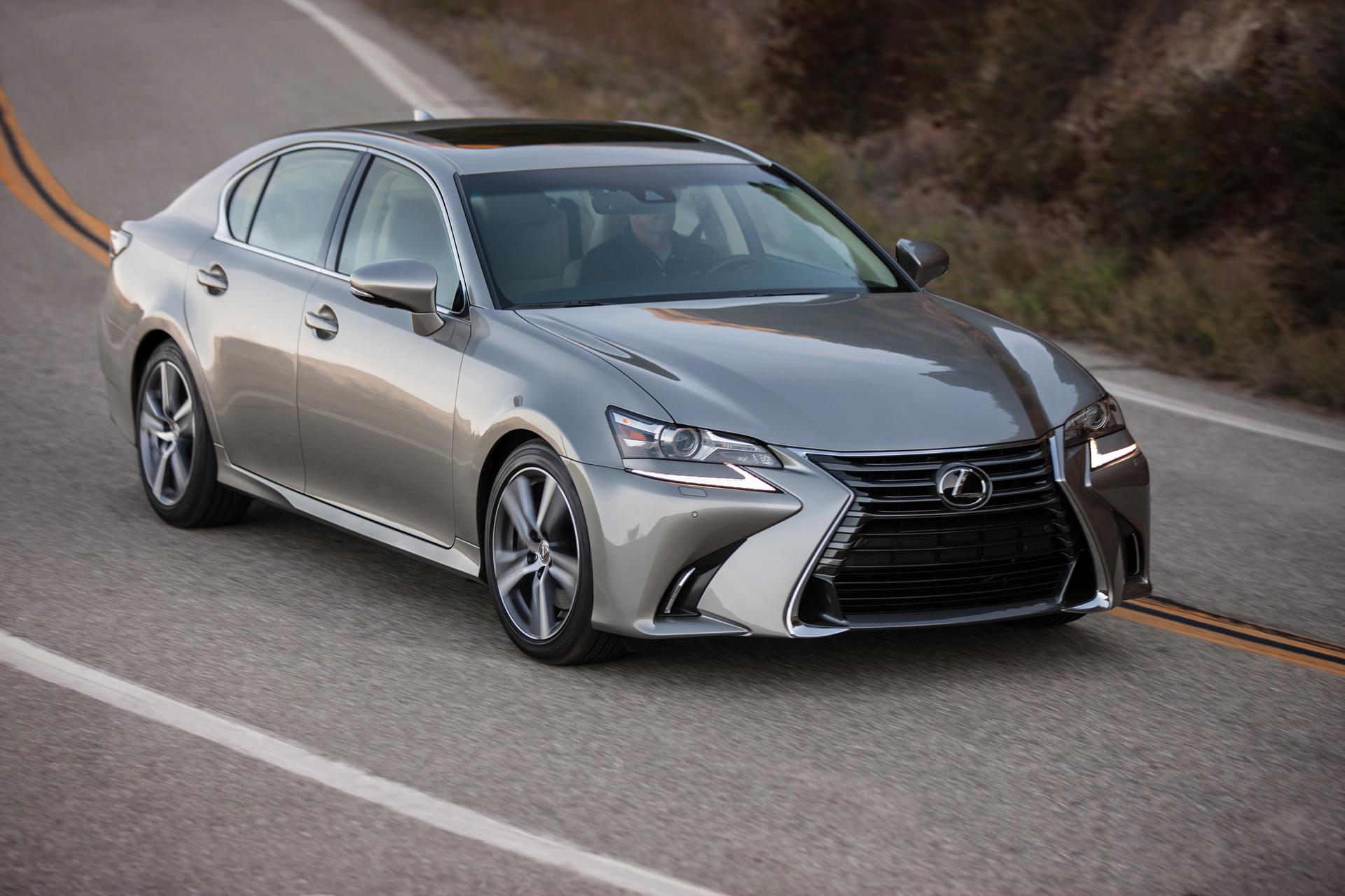 2016 Lexus GS 200t © Toyota Motor Corporation