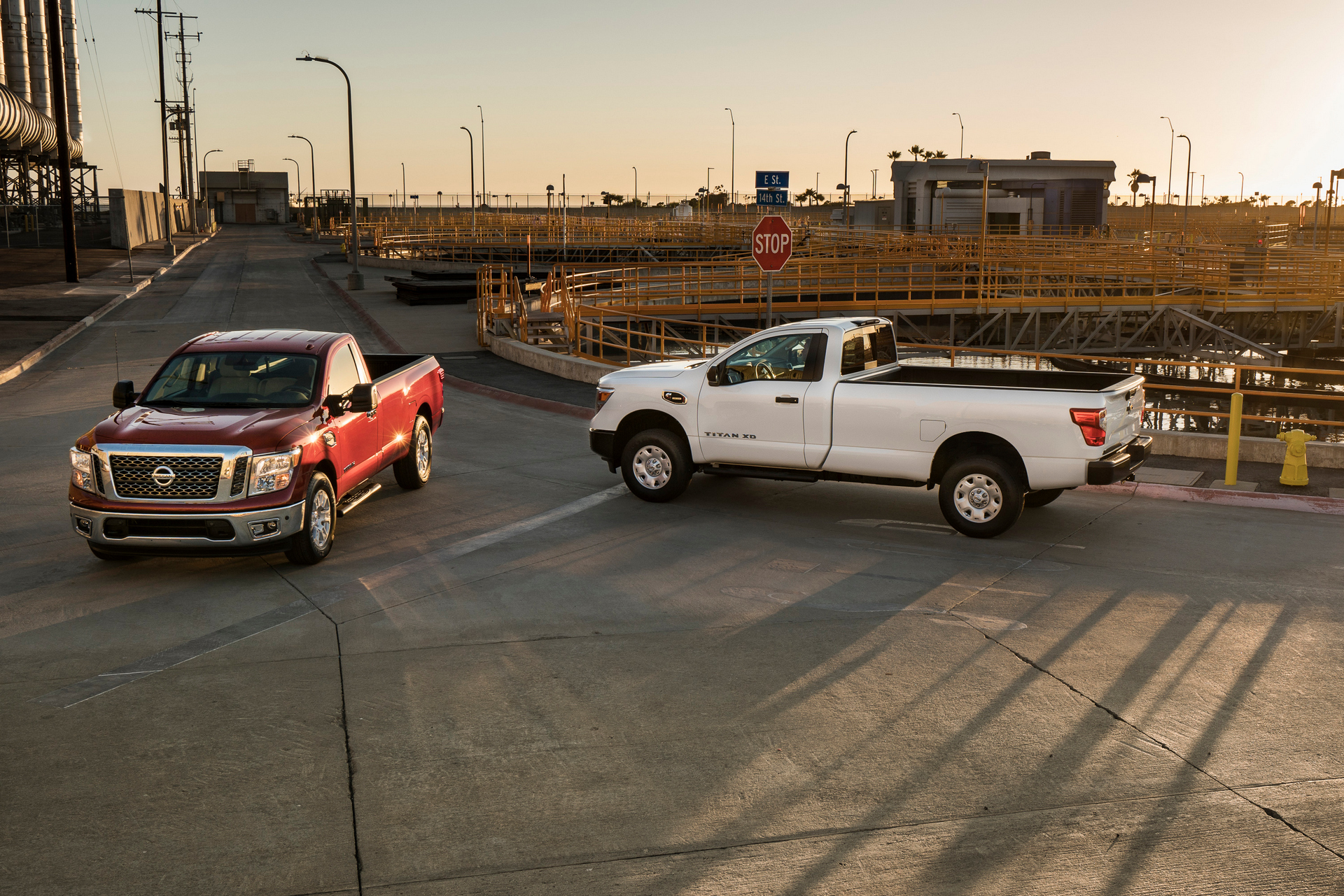 The 2017 Nissan TITAN XD and TITAN Single Cab models are the first-ever single cab offering in TITAN history. The trucks are designed to provide an affordable and rugged entry-point in the commercial fleet/work truck market © Nissan Motor Co., Ltd.