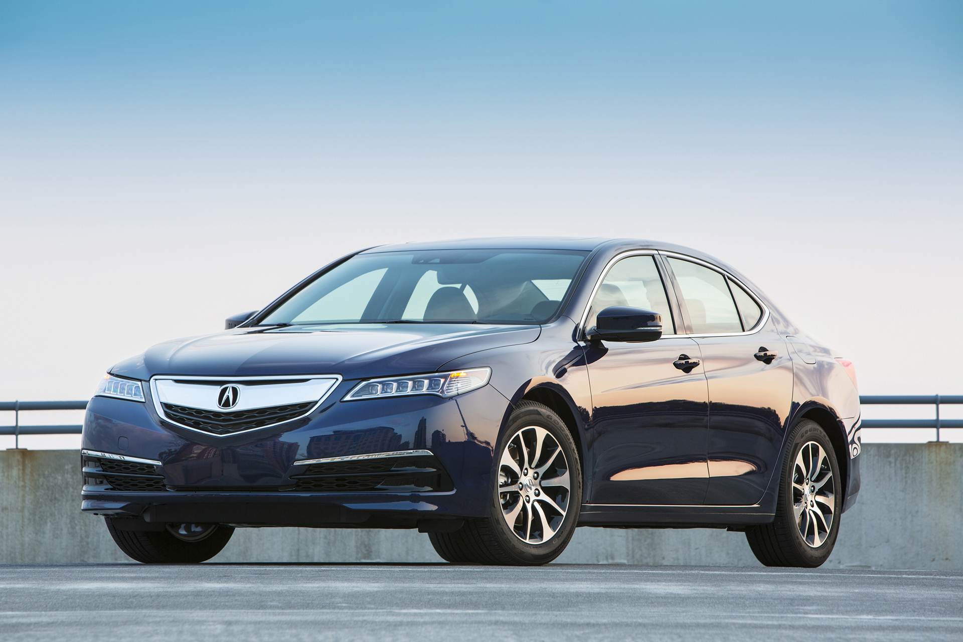 2017 Acura TLX © Honda Motor Co., Ltd.