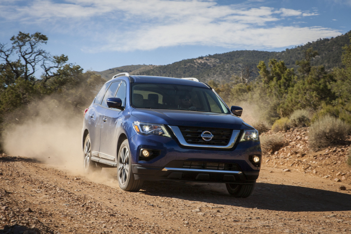 2017 Nissan Pathfinder Preview