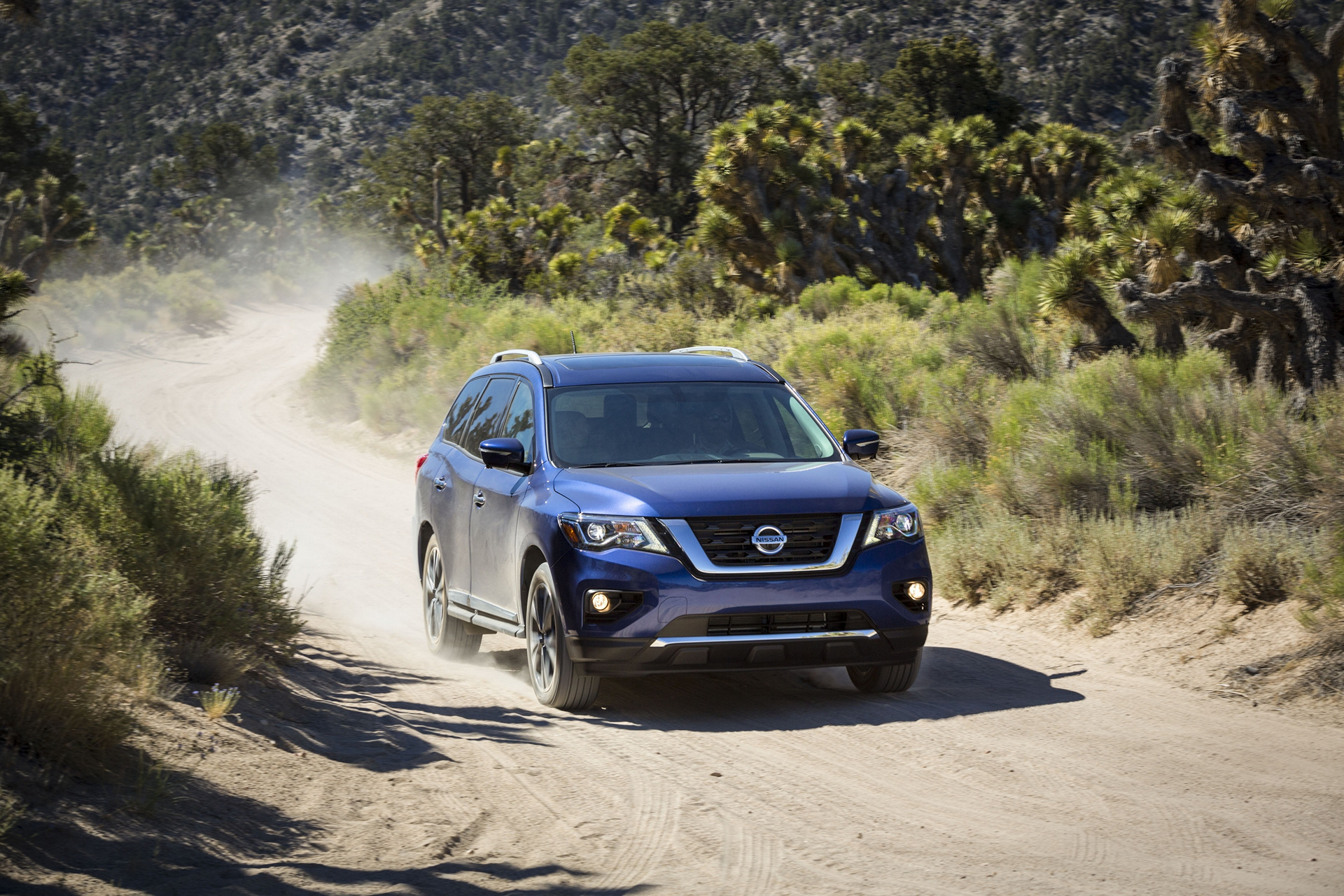 2017 Nissan Pathfinder © Nissan Motor Co., Ltd.