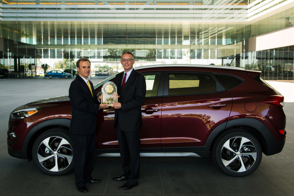 TUCSON RECEIVES J.D. POWER 2016 APEAL AWARD © Hyundai Motor Company