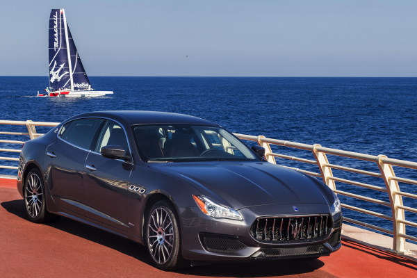 New Maserati Quattroporte and Multi70 in action © Fiat Chrysler Automobiles N.V.