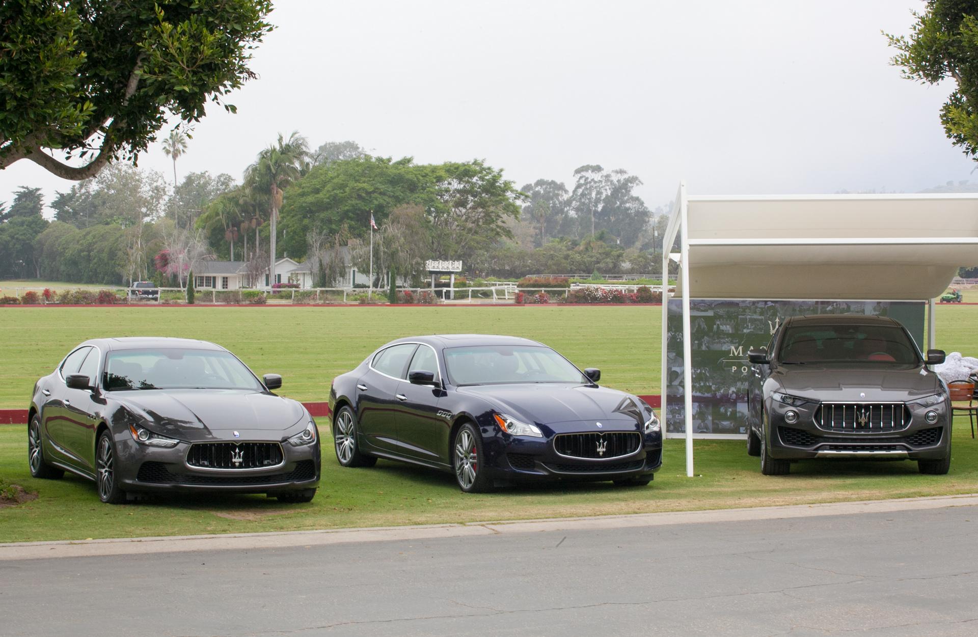 2016 Maserati Silver Cup - Ghibli, Quattroporte, Levante © Fiat Chrysler Automobiles N.V.