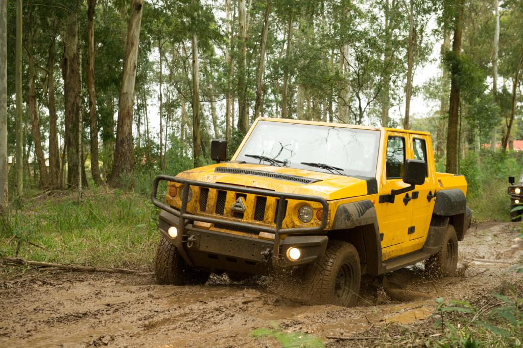The Newest Generation of an Authentic and Extraordinary Off-Road Vehicle © EDAG Engineering GmbH