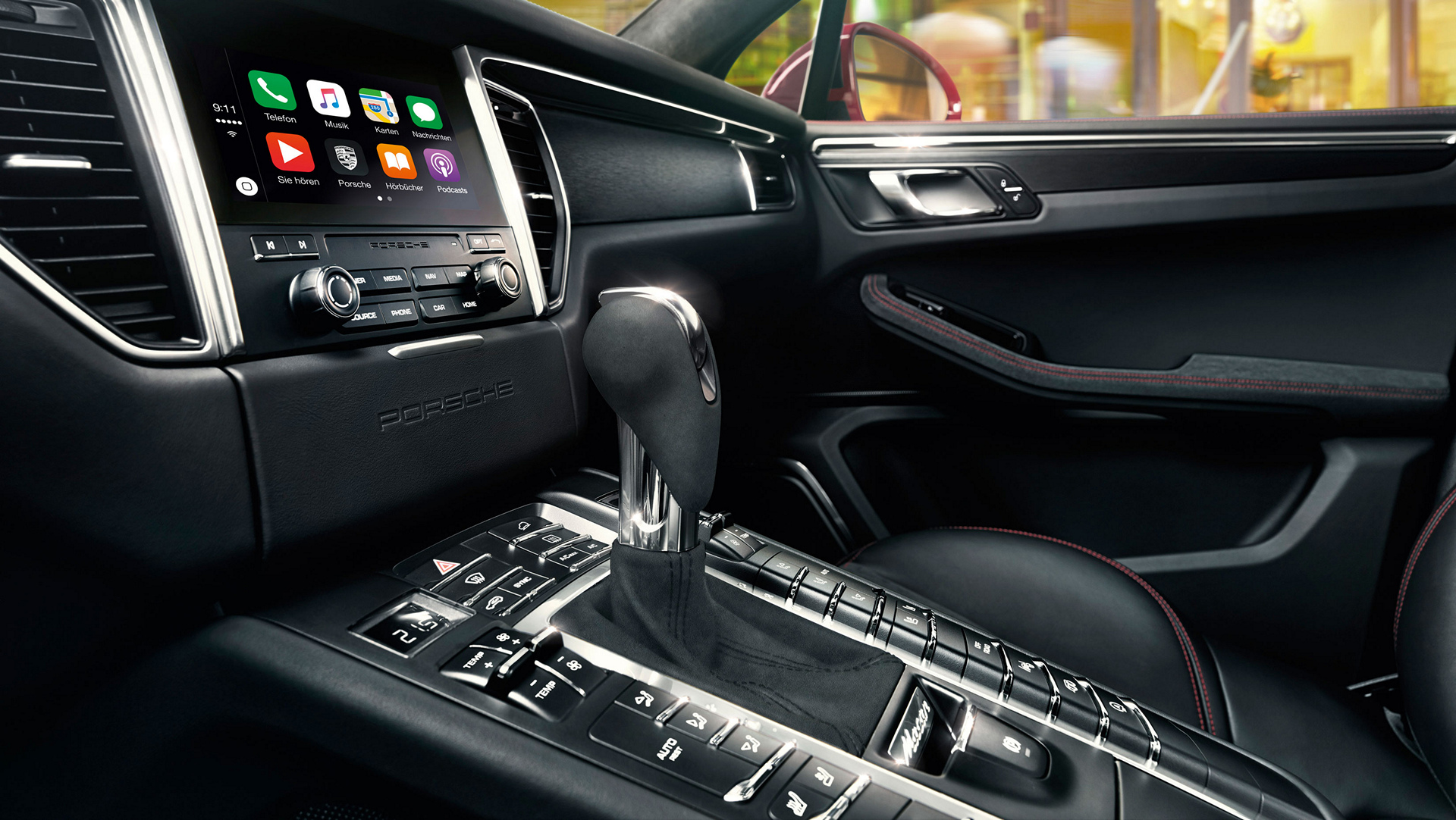Apple CarPlay, Porsche Connect © Dr. Ing. h.c. F. Porsche AG