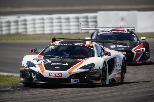 McLaren returns to the Total 24 Hours of Spa © McLaren Automotive