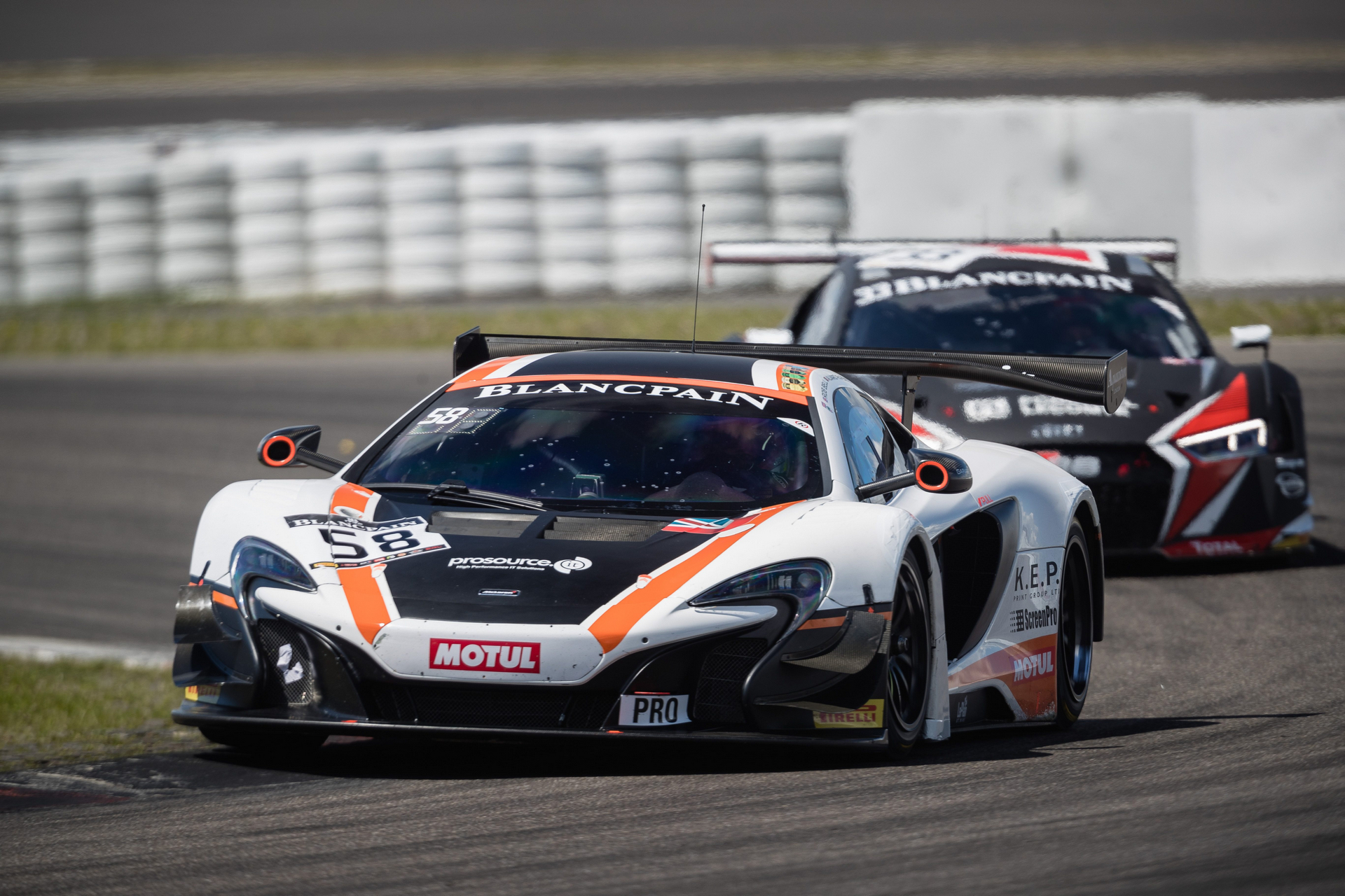 McLaren returns to the Total 24 Hours of Spa © McLaren Automotive
