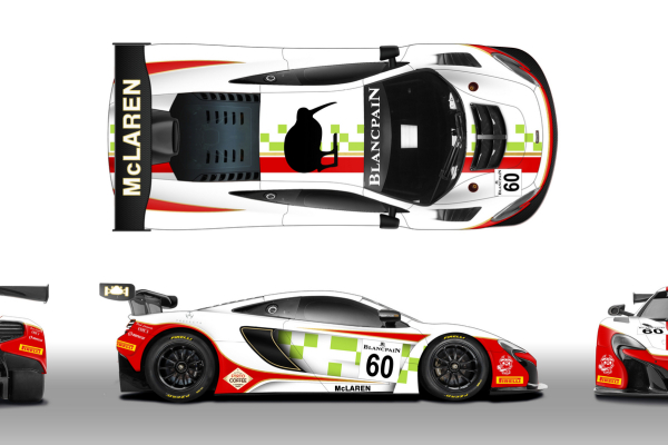 Garage 59 #60 McLaren 650S GT3 © McLaren Automotive