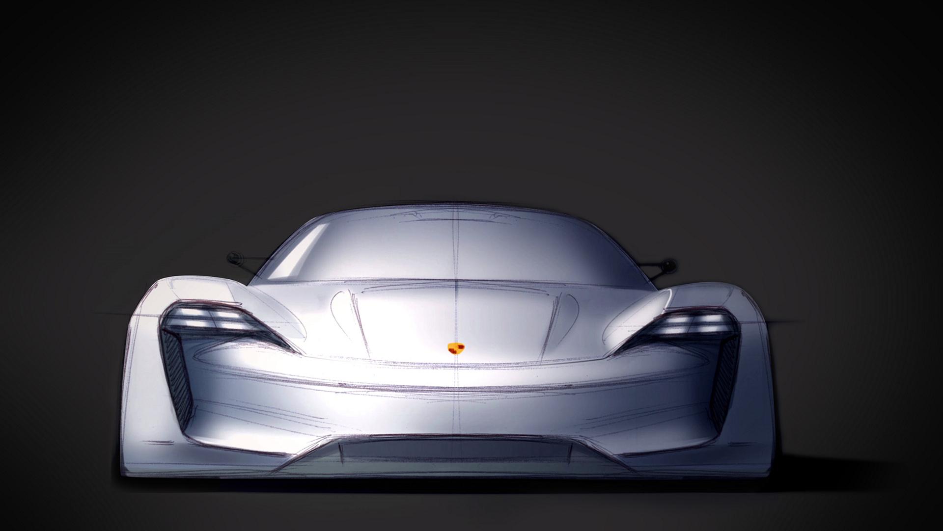 Porsche Mission E © Dr. Ing. h.c. F. Porsche AG
