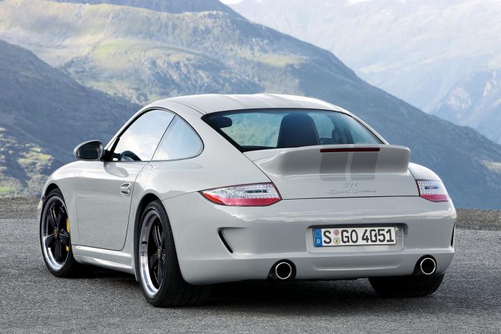 Through Europe in the Porsche 911 Sport Classic