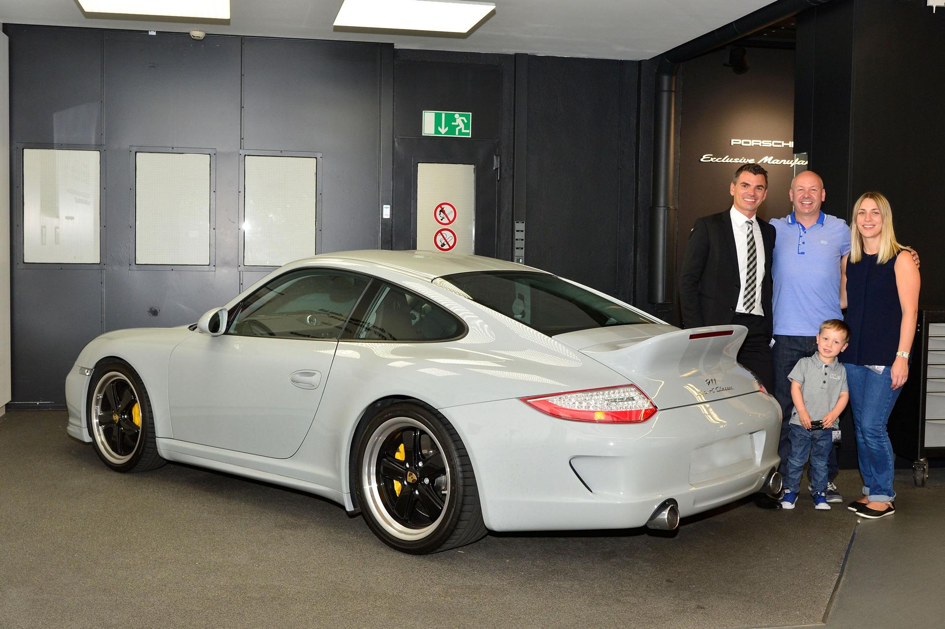 FotoPorsche 911 Sport Classic in Zuffenhausen © Dr. Ing. h.c. F. Porsche AG