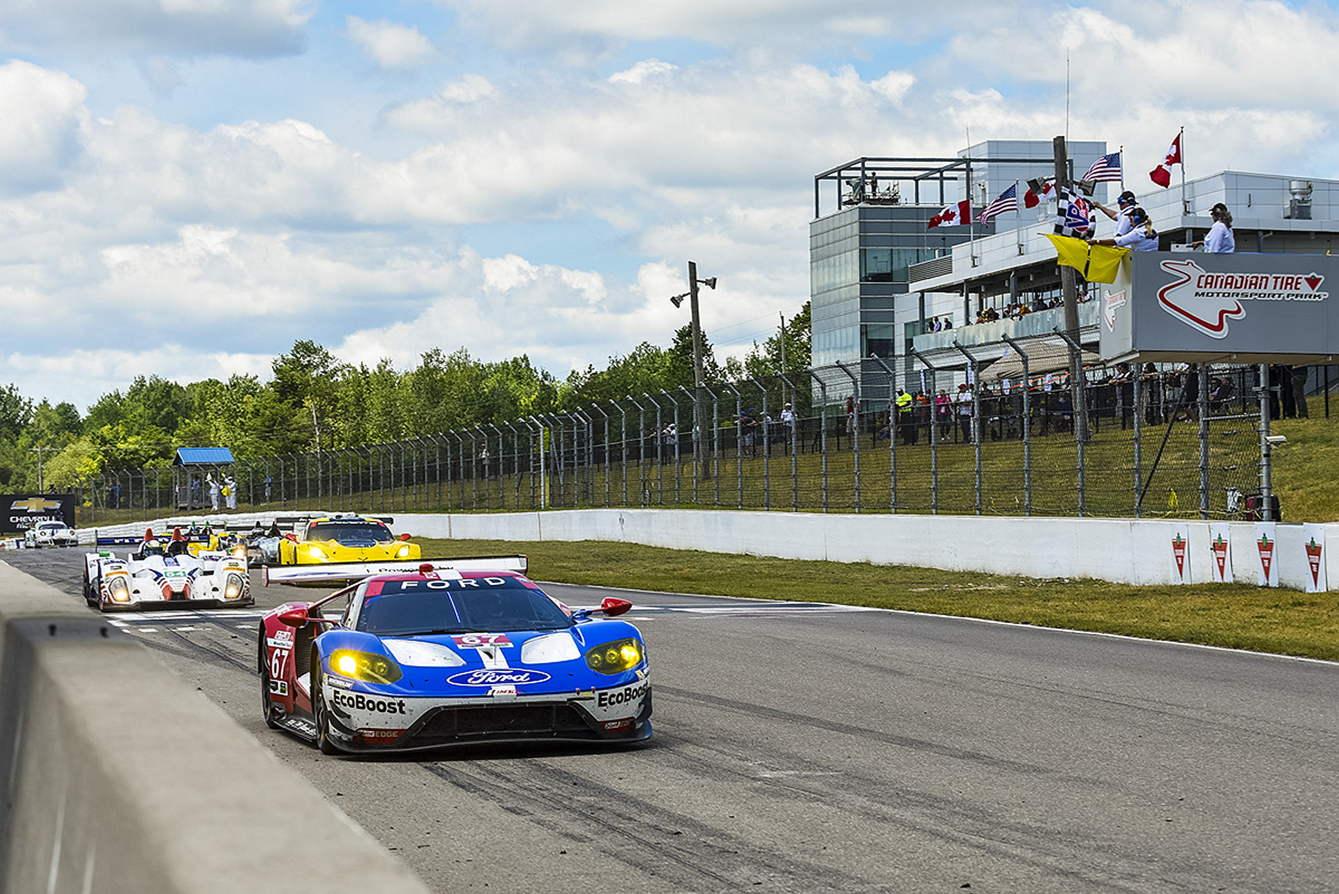 Two Wins in Two Weeks for Ford Chip Ganassi Racing © Ford Motor Company
