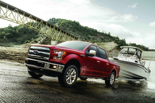 Ford F-150 Lariat © Ford Motor Company