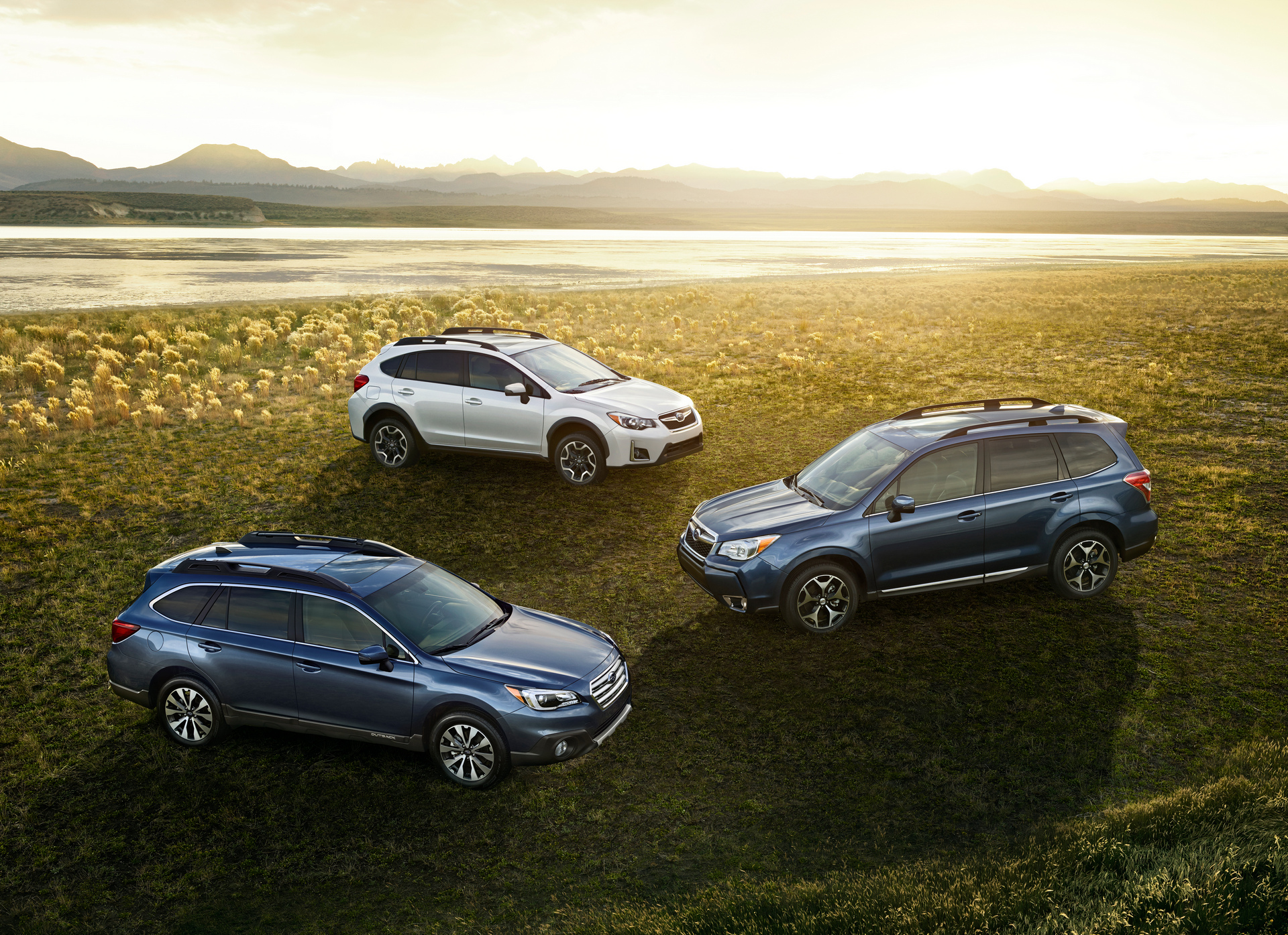 Subaru Sweeps Crossover SUV Segment for 2016 Autopacific Ideal Vehicle Awards © Fuji Heavy Industries, Ltd.