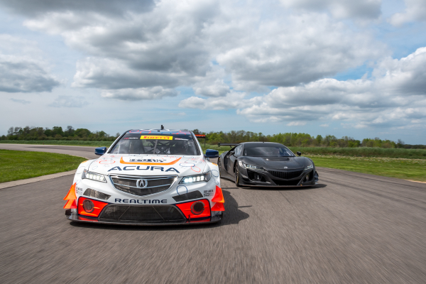 The Acura NSX GT3 race car will make its public test debut on July 28 during Pirelli World Challenge practice, building on momentum from TLX GT program © Honda Motor Co., Ltd.