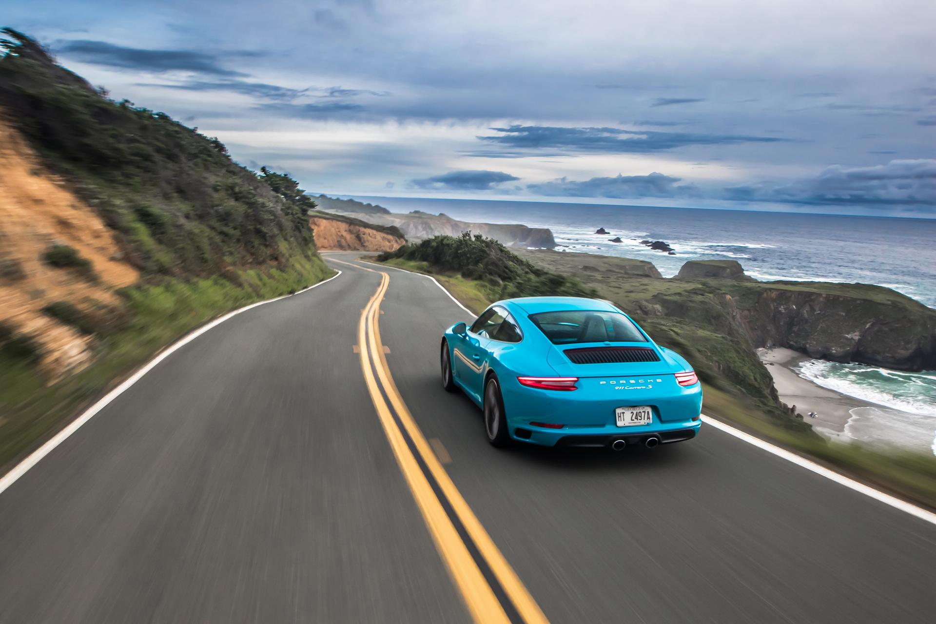 2017 Porsche 911 Carrera S © Dr. Ing. h.c. F. Porsche AG