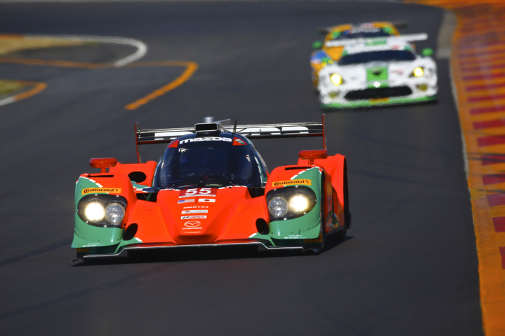 Top-Five for Mazda Prototype Team at Watkins Glen International