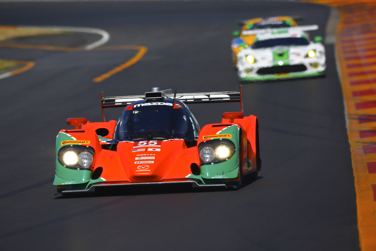 Top-Five for Mazda Prototype Team at Watkins Glen International © Mazda Motor Corporation