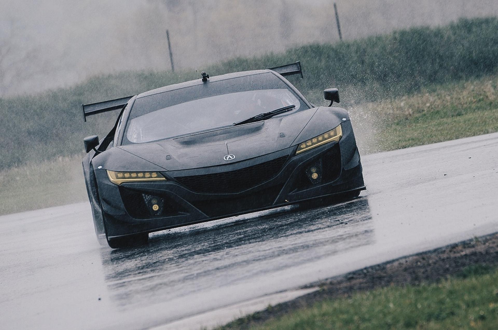 Acura NSX GT3 Racecar © Honda Motor Co., Ltd.