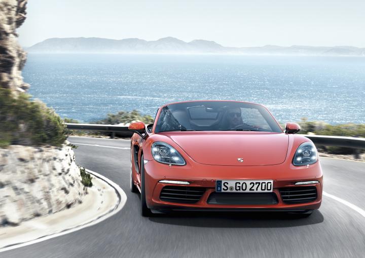 2016 Porsche 718 Boxster Review