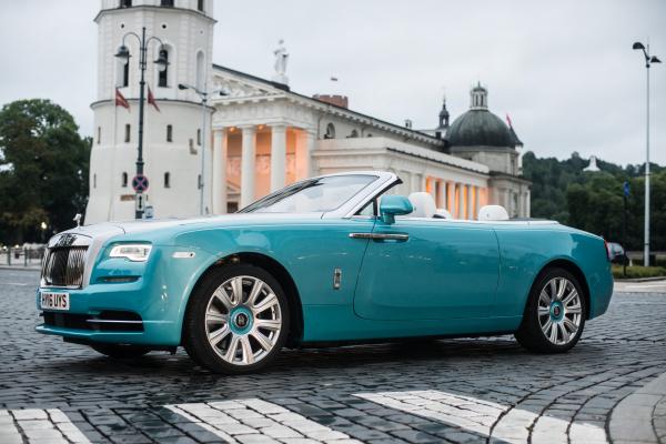 Rolls Royce in Vilnius © BMW AG