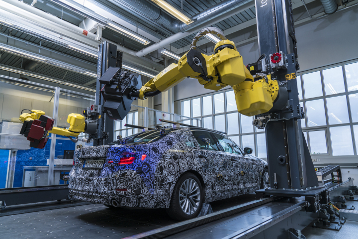 The Virtual New BMW 5 Series: 3D Data Model of Upcoming Generation