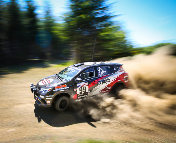 New England Forest Rally Next Stop for RAV4 to Conquer