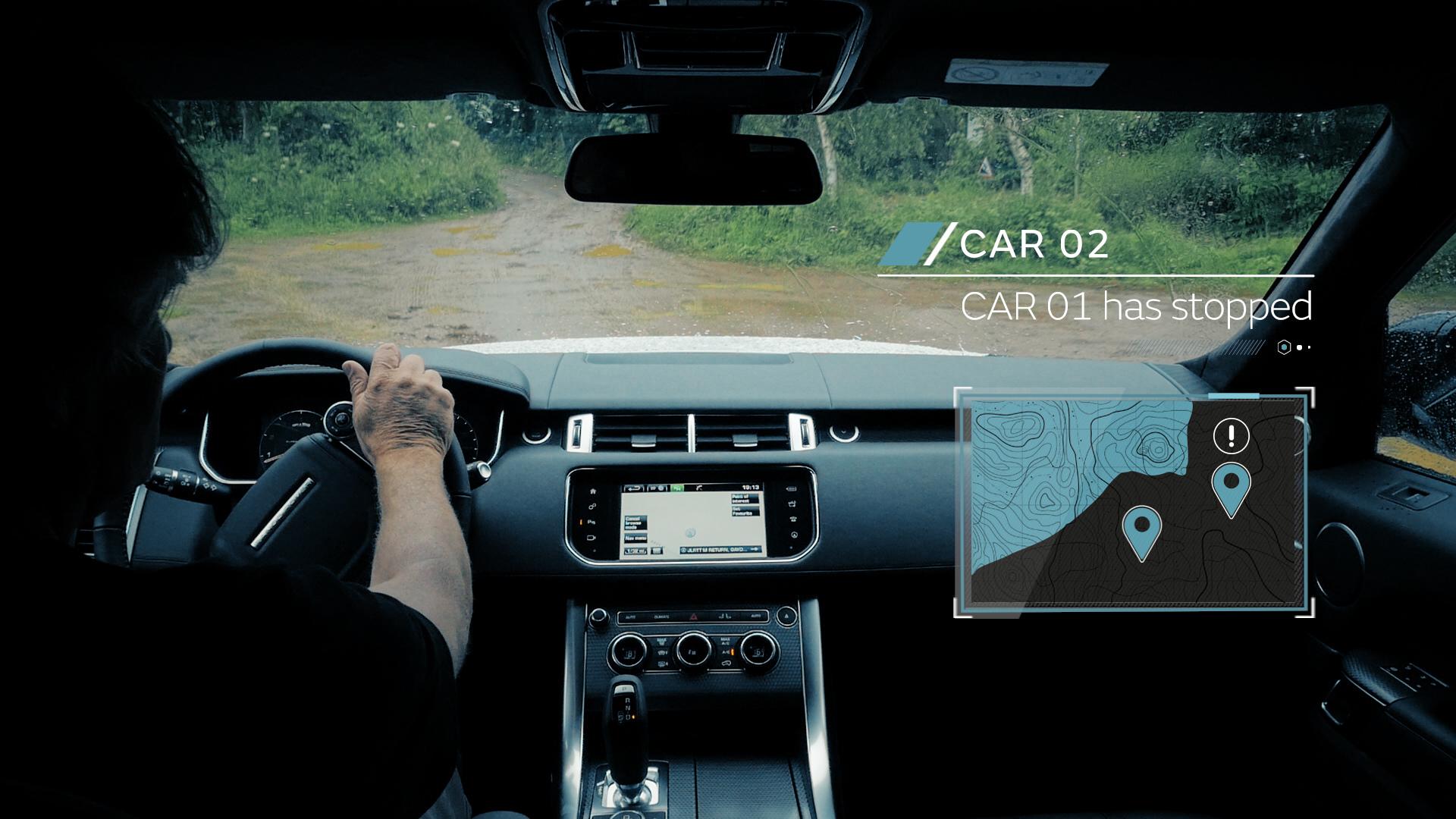 Jaguar Land Rover Demonstrates All-Terrain Self-Driving Research © Tata Group
