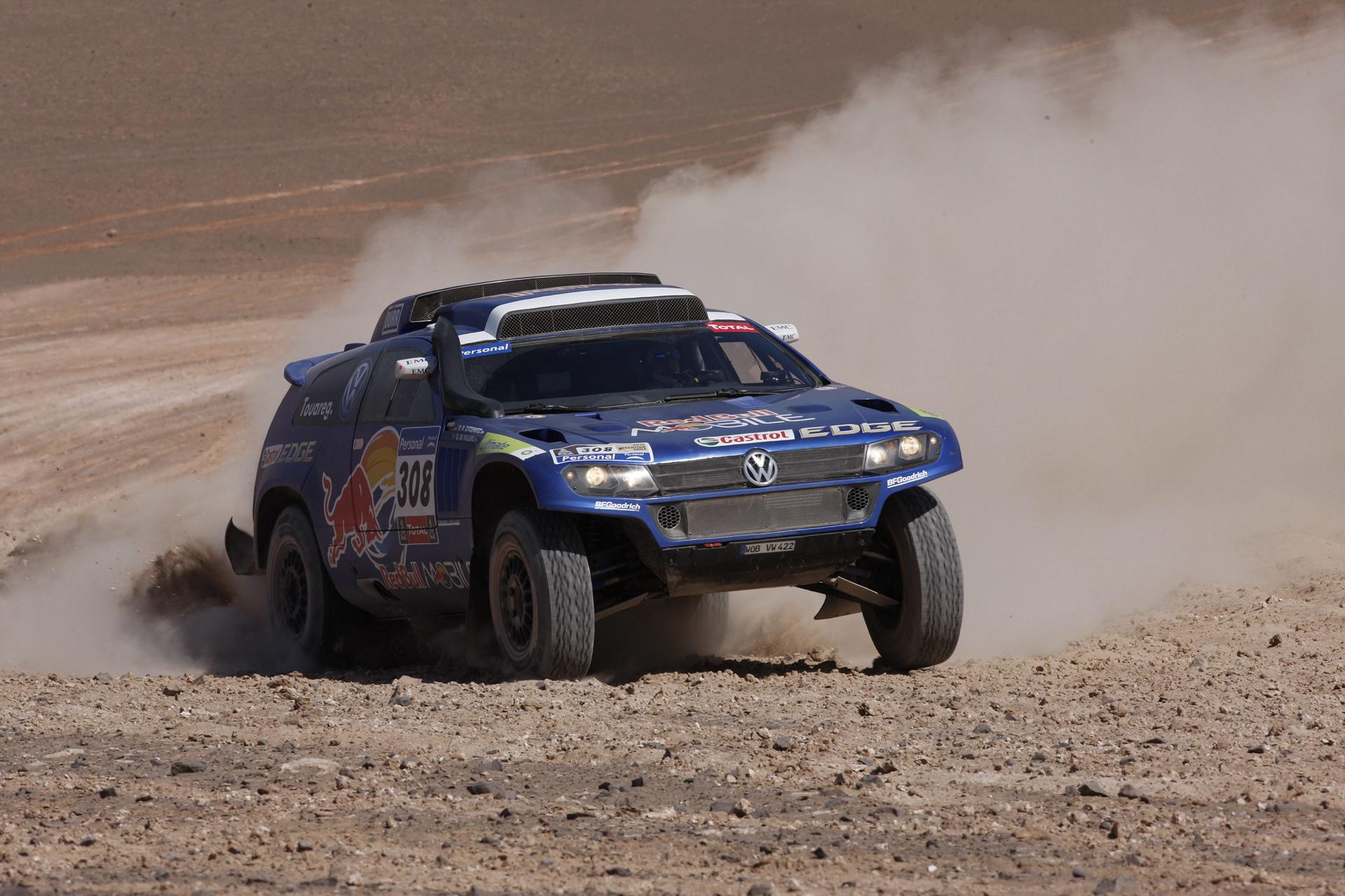 Dakar Rally © Volkswagen AG