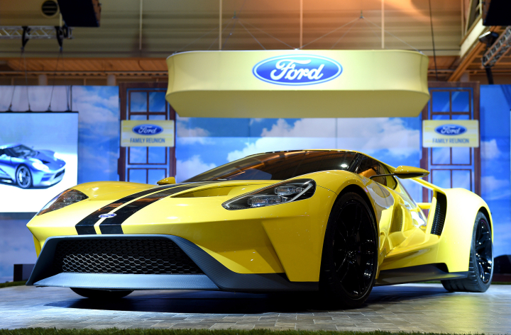 Ford Brings 2017 Ford Fusion and All-New Ford GT to New Orleans