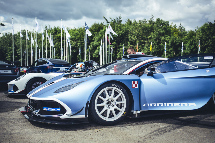 Arrinera at Goodwood