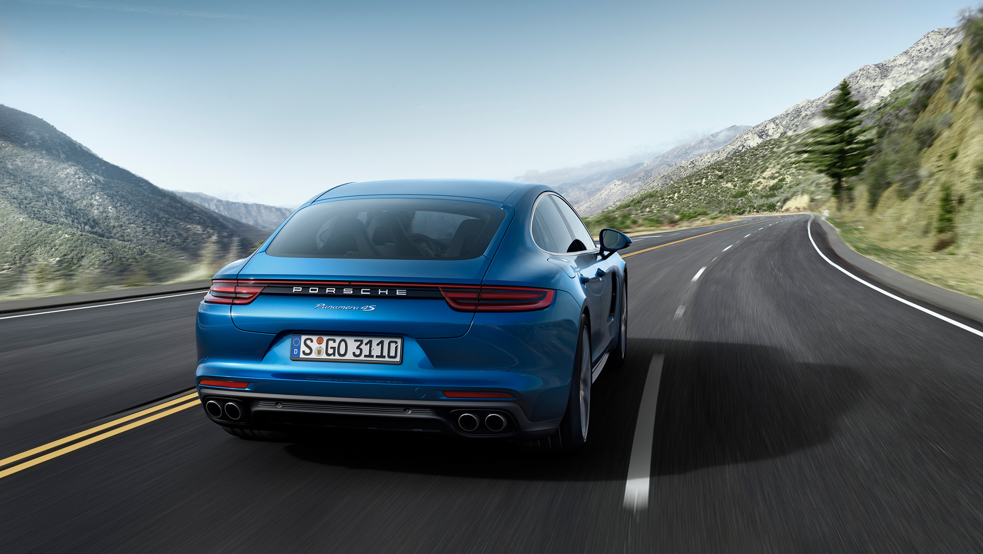Porsche Panamera 4S © Dr. Ing. h.c. F. Porsche AG
