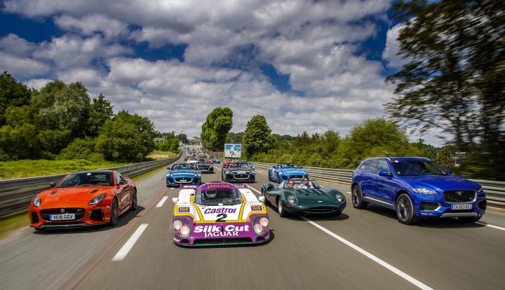 Jaguar's Past and Present Unleashed at Le Mans Classic