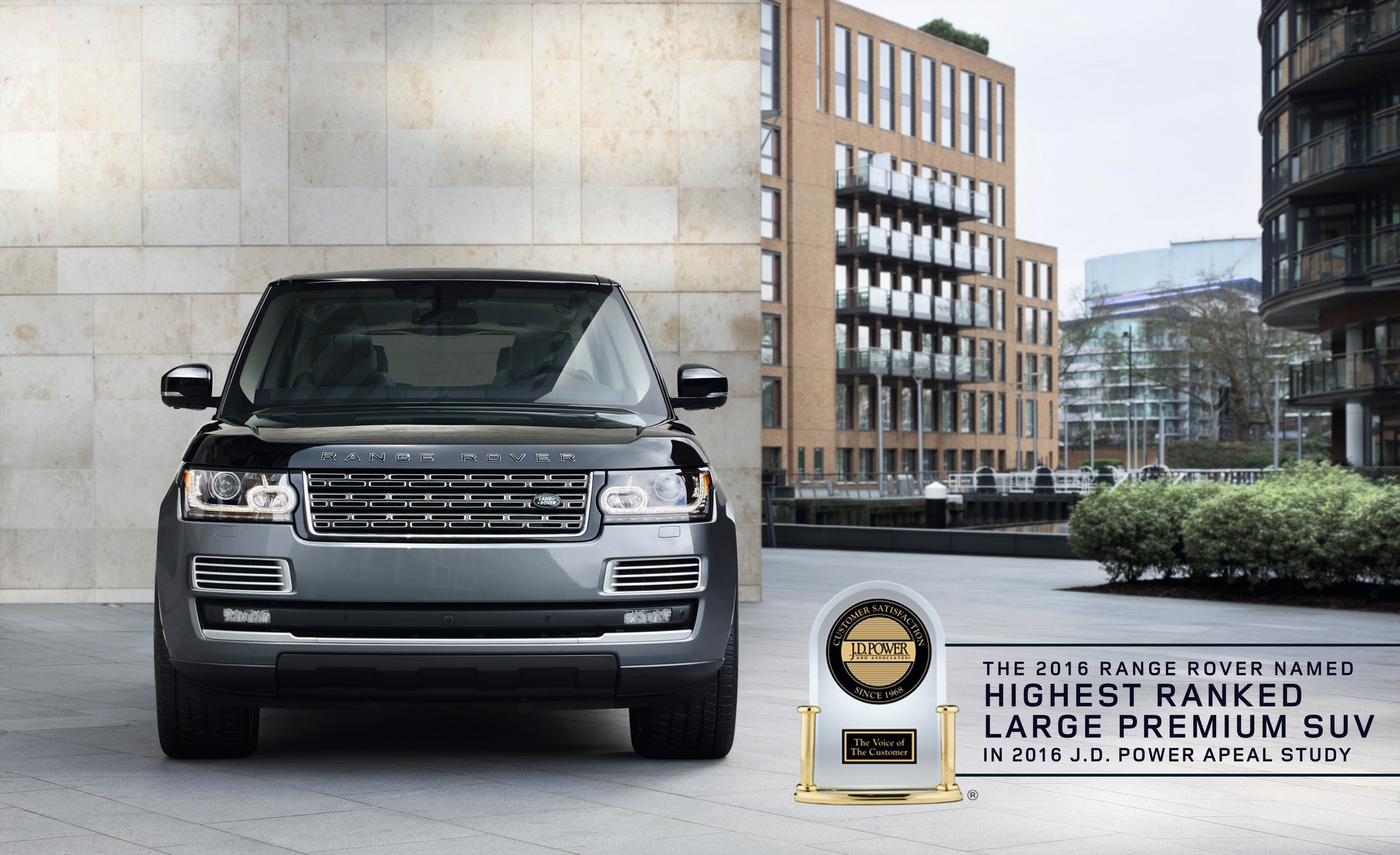 Land Rover Range Rover Named Highest Ranked Large Premium SUV © Tata Group