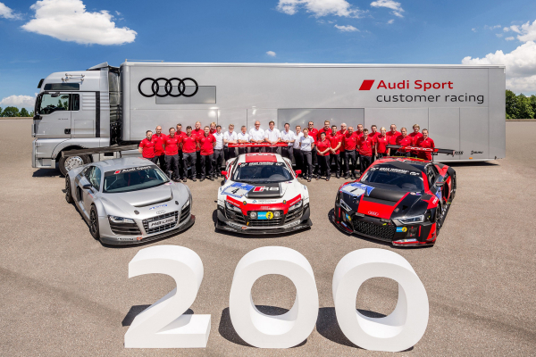 Audi Produces 200th R8 LMS © Volkswagen AG