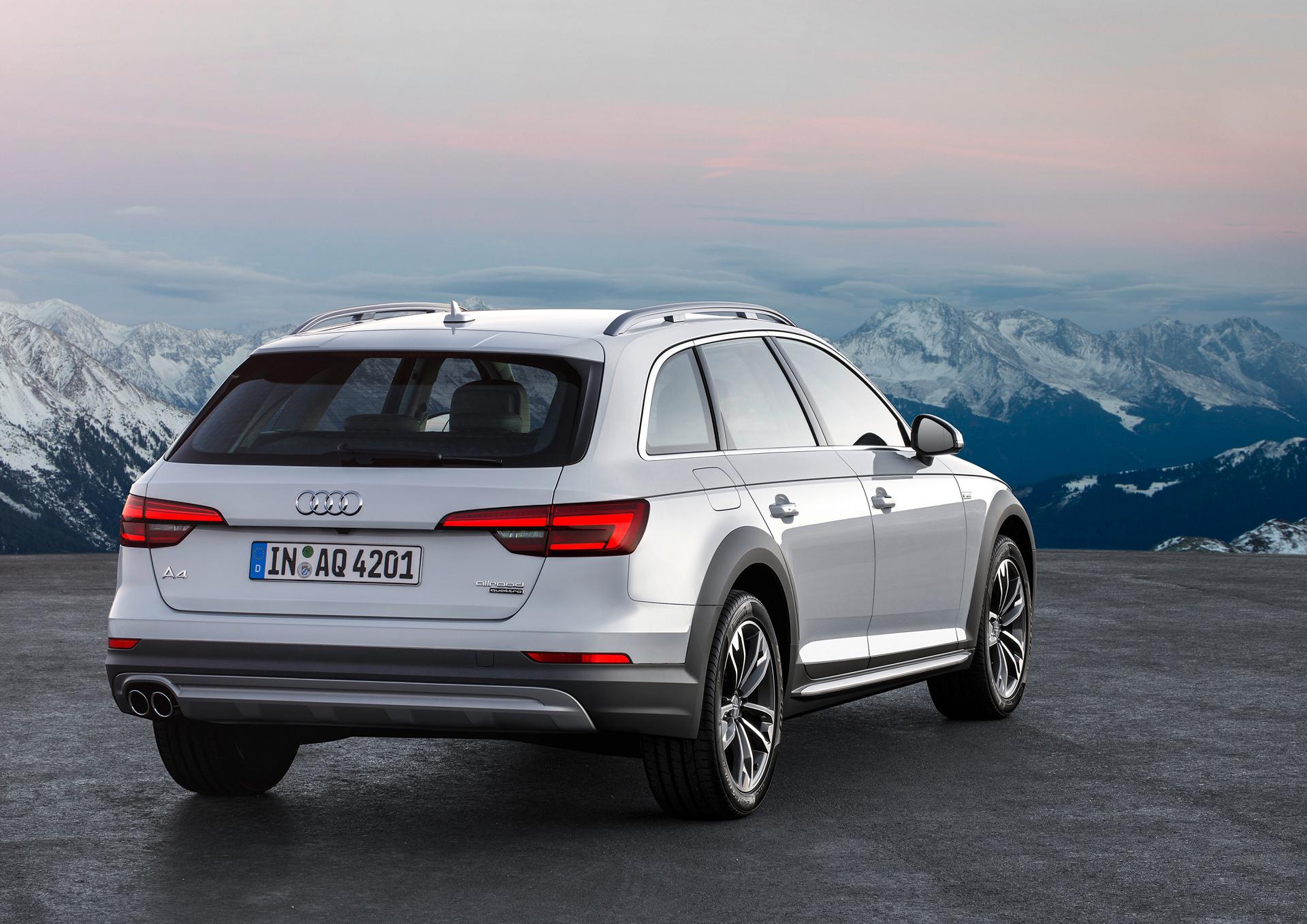 2017 Audi A4 allroad © Volkswagen AG