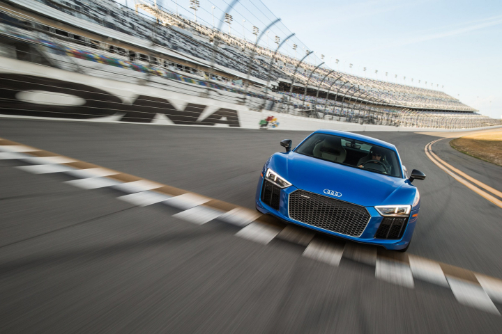 The Audi R8 V10 Plus will Pace the Northeast Grand Prix