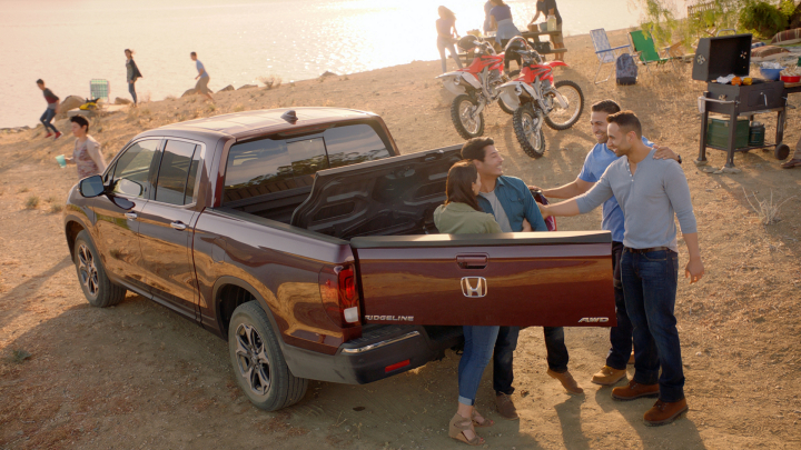 Honda Debuts New Marketing Campaign for the 2017 Ridgeline Pickup Truck