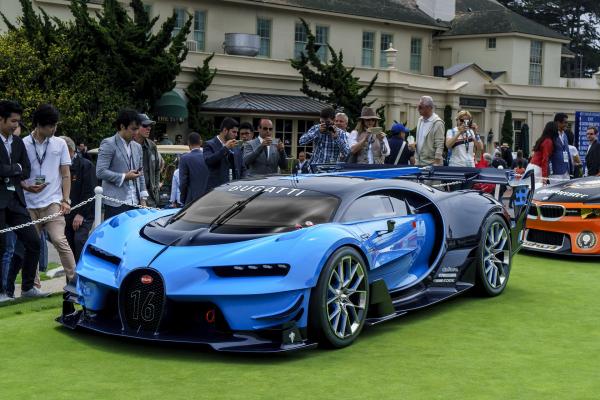 Bugatti Vision Gran Turismo © 2016 Bugatti Automobiles S.A.S.