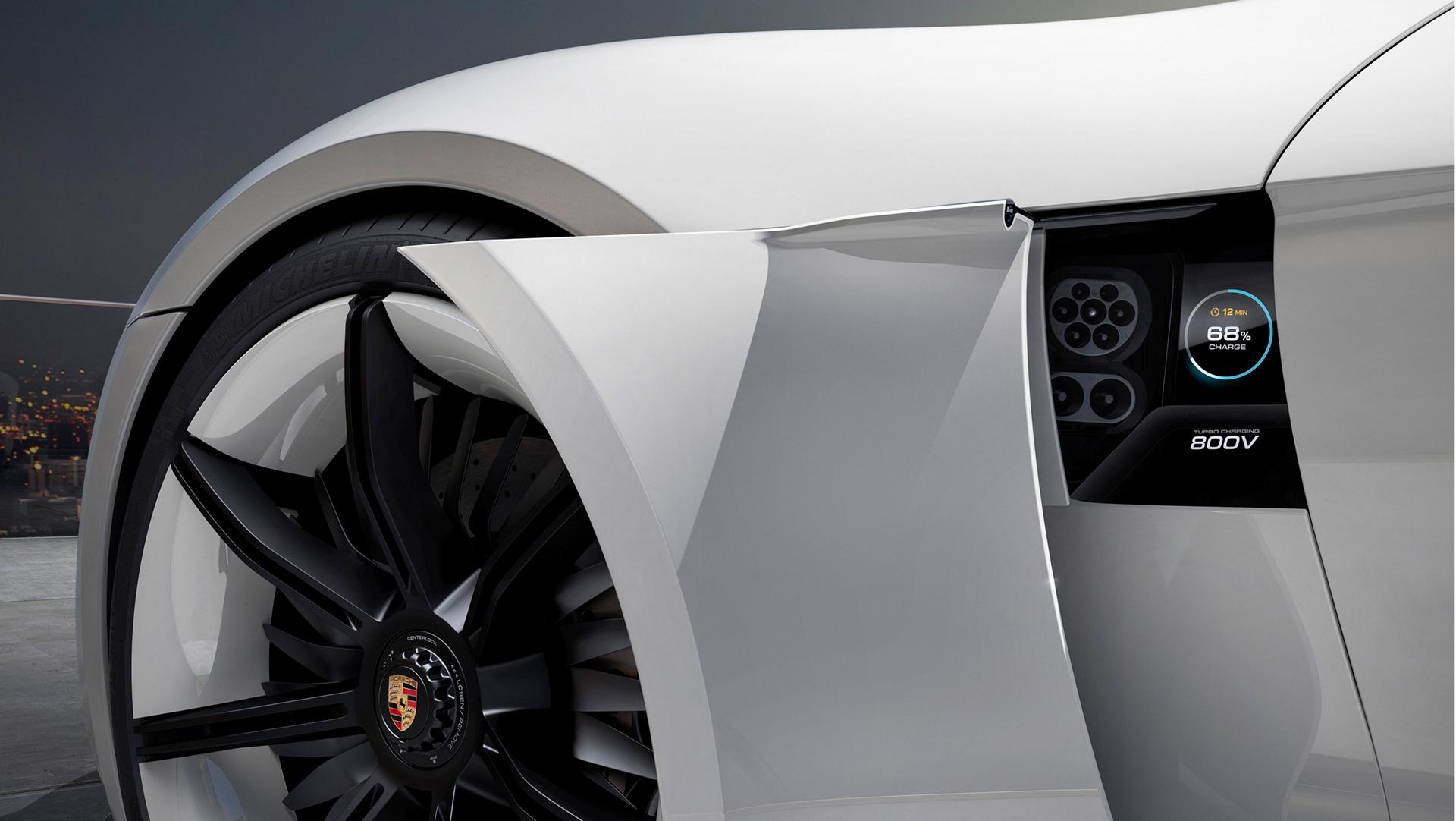 Porsche Mission E Concept © Dr. Ing. h.c. F. Porsche AG