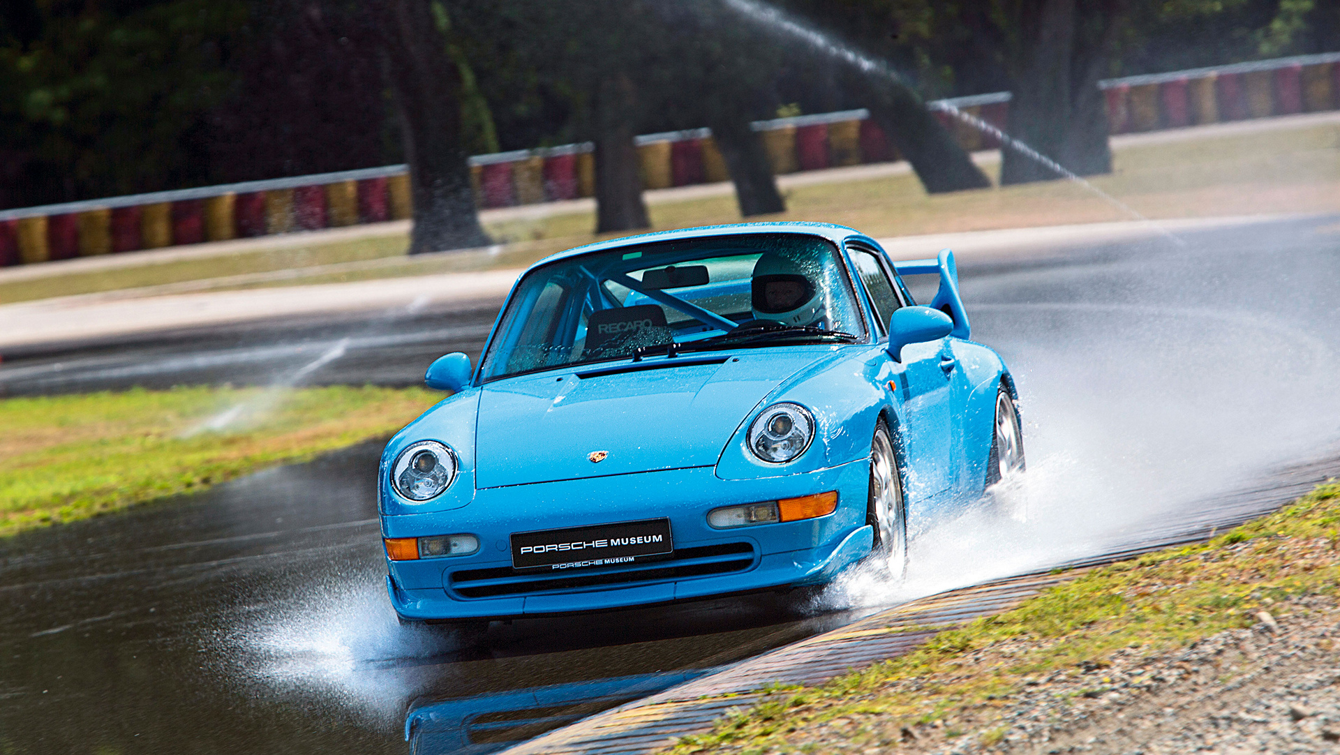 993 RS, tyre testing, Piedmont region of Italy © Dr. Ing. h.c. F. Porsche AG
