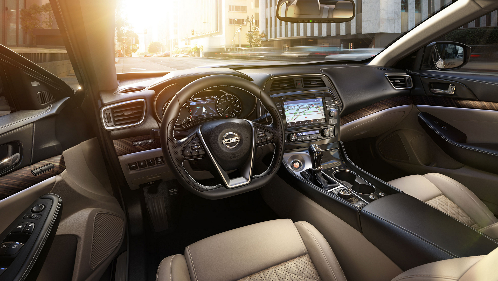 2017 Nissan Maxima © Nissan Motor Co., Ltd.
