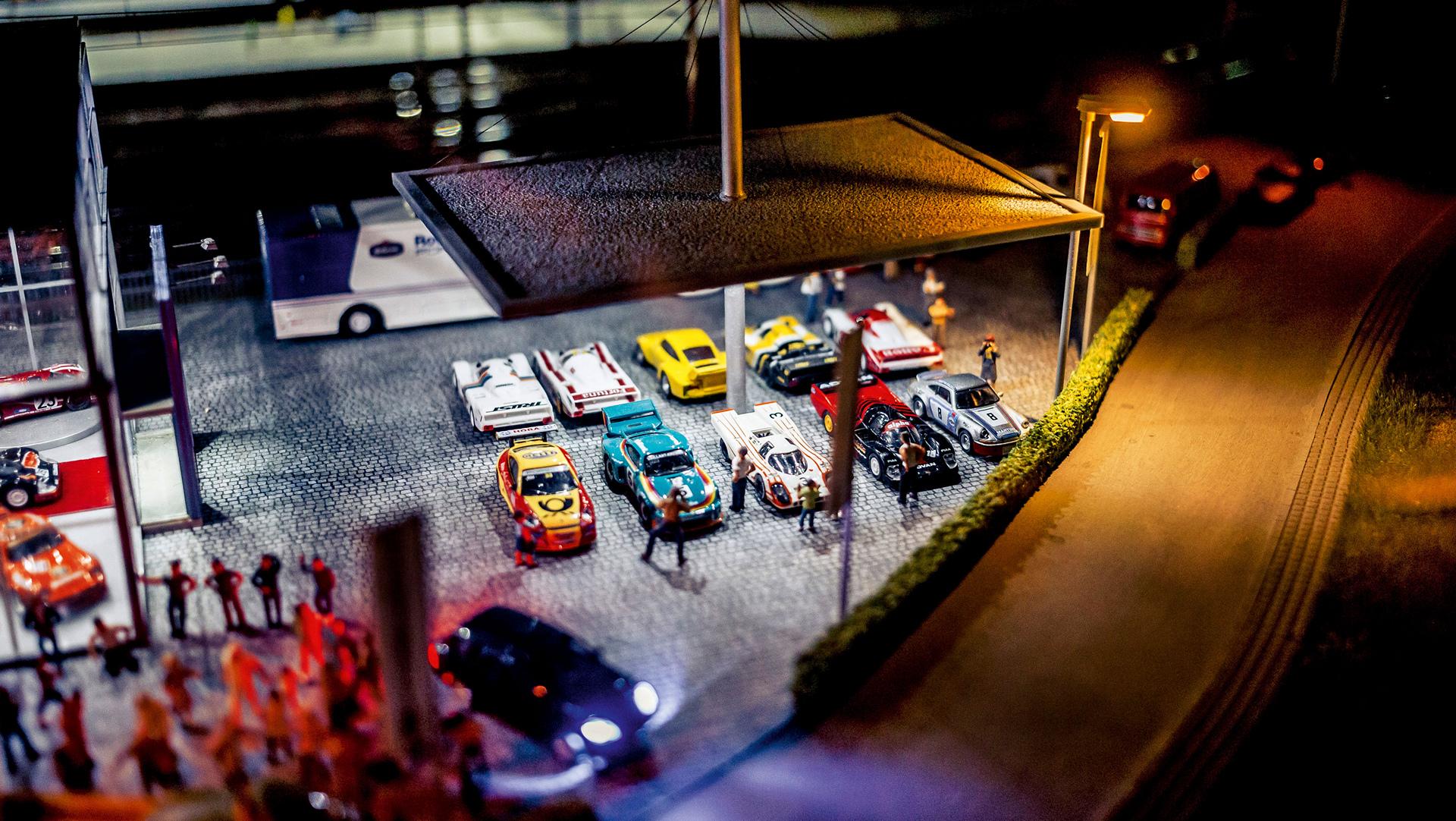 Sportcars in miniature, TraumWerk © Dr. Ing. h.c. F. Porsche AG