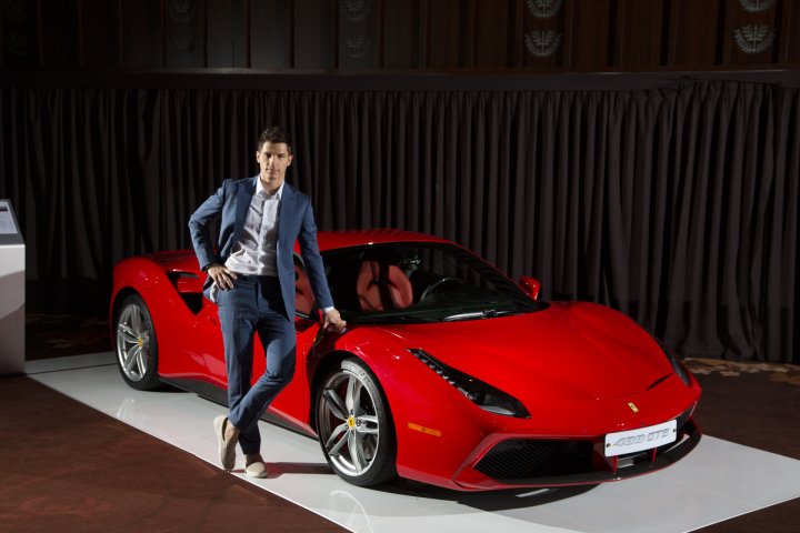 Special Invitation from Italy, Home to Ferrari!