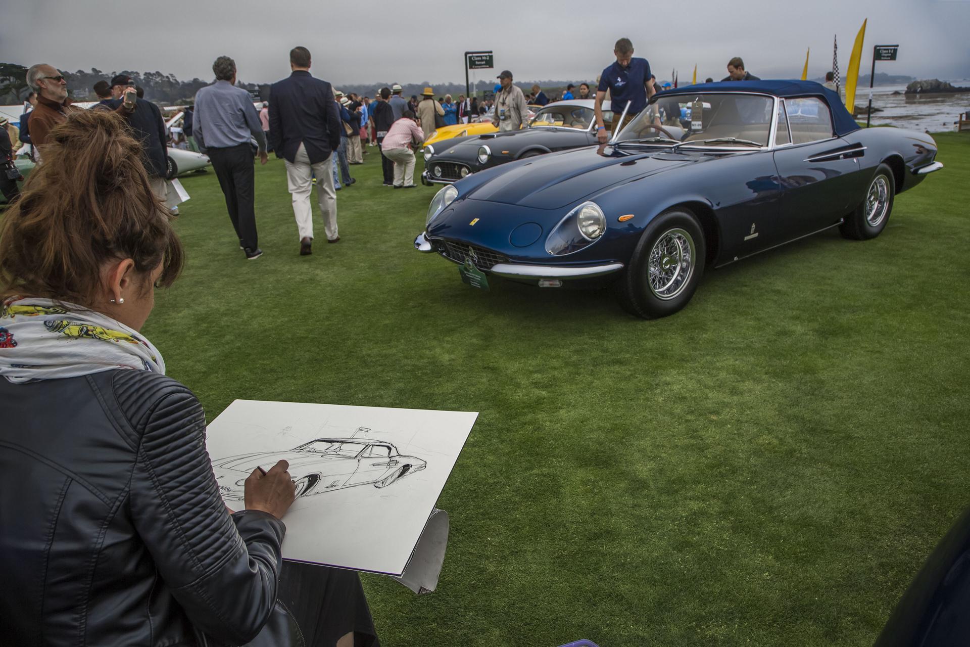 Pebble Beach Concours d'Elegance 2016 © Fiat Chrysler Automobiles N.V.