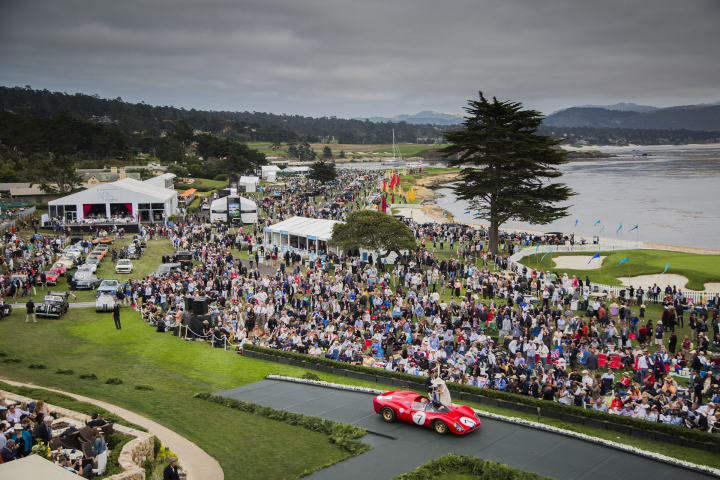 To the Lawn at the Pebble Beach Concours d'Elegance