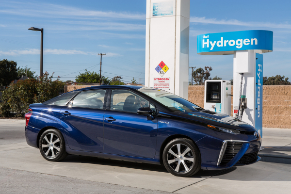 2016 Toyota Mirai Fuel Cell Sedan © Toyota Motor Corporation